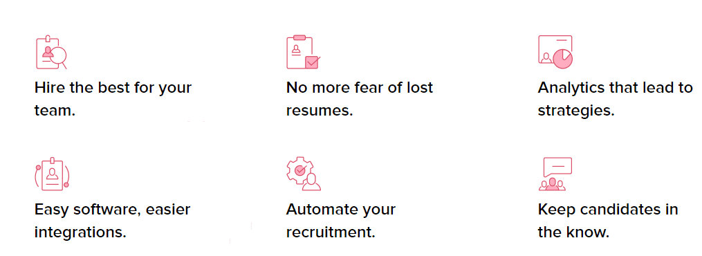Zoho Recruiting and applicant tracking features